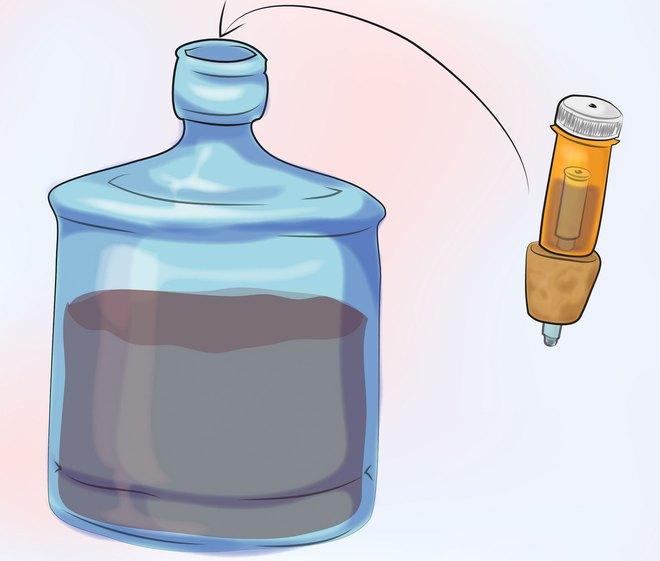 Как сделать гидрозатвор для браги своими руками 756
