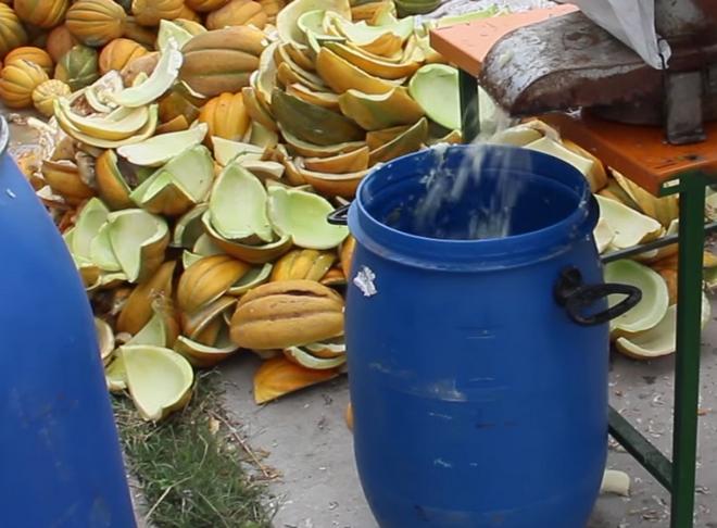 рецепт приготовления браги для самогона из дыни