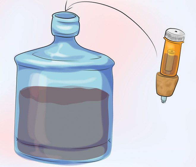 Гидрозатвор для браги