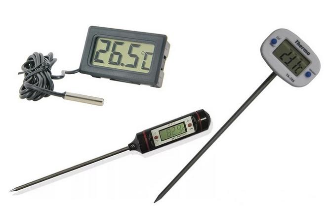 Виды электронных термометров